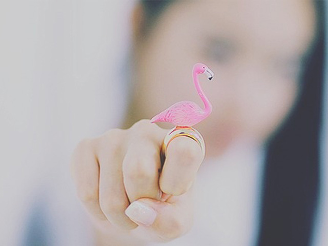 flamingo-ring