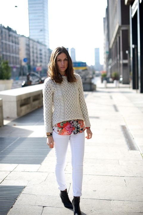 total-white-look-flower-skirt-camicia-a-fiori-3 (Copia)