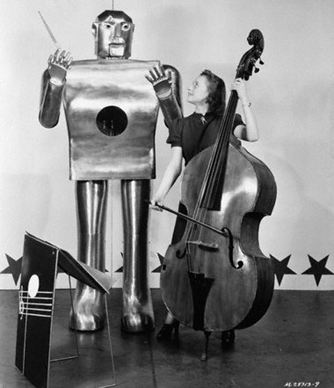 musical robot by hastingsgraham