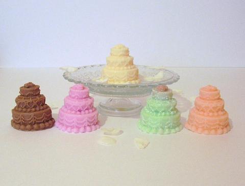 3 Tier mini cakes