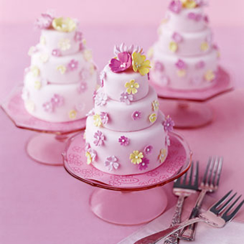 from brides-mini cakes