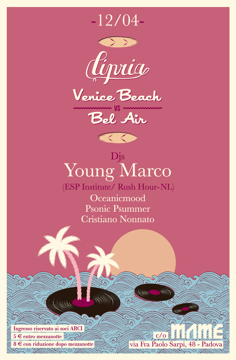 Cipria Venice Beach vs. Bel Air| Young Marco| 12.04.2014|Closing Event