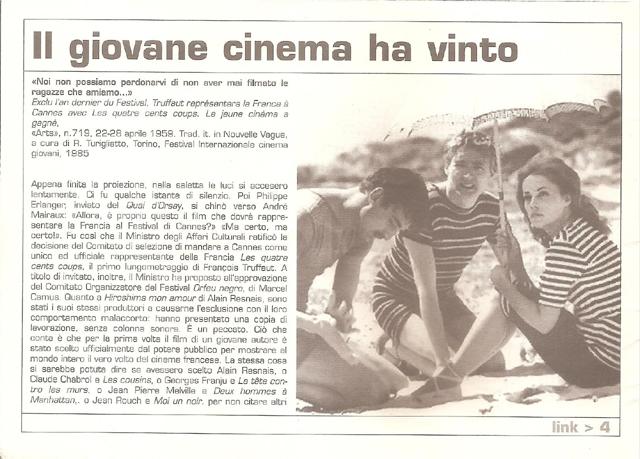 IL GIOVANE CINEMA HA VINTO