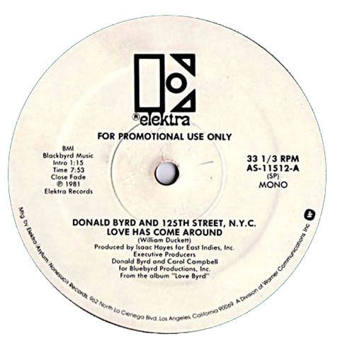 DONALD+BYRD+Love+Has+Come+