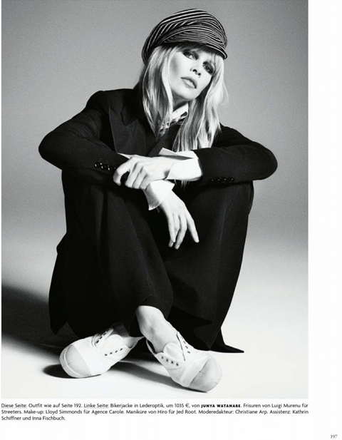 Claudia Schiffer by Luigi and Iango for Vogue Germany April 2014_7