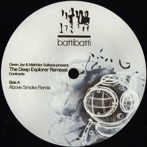 OWEN JAY & MELCHIOR SULTANA  CONTRASTS (THE DEEP EXPLORER REMIXES)_front