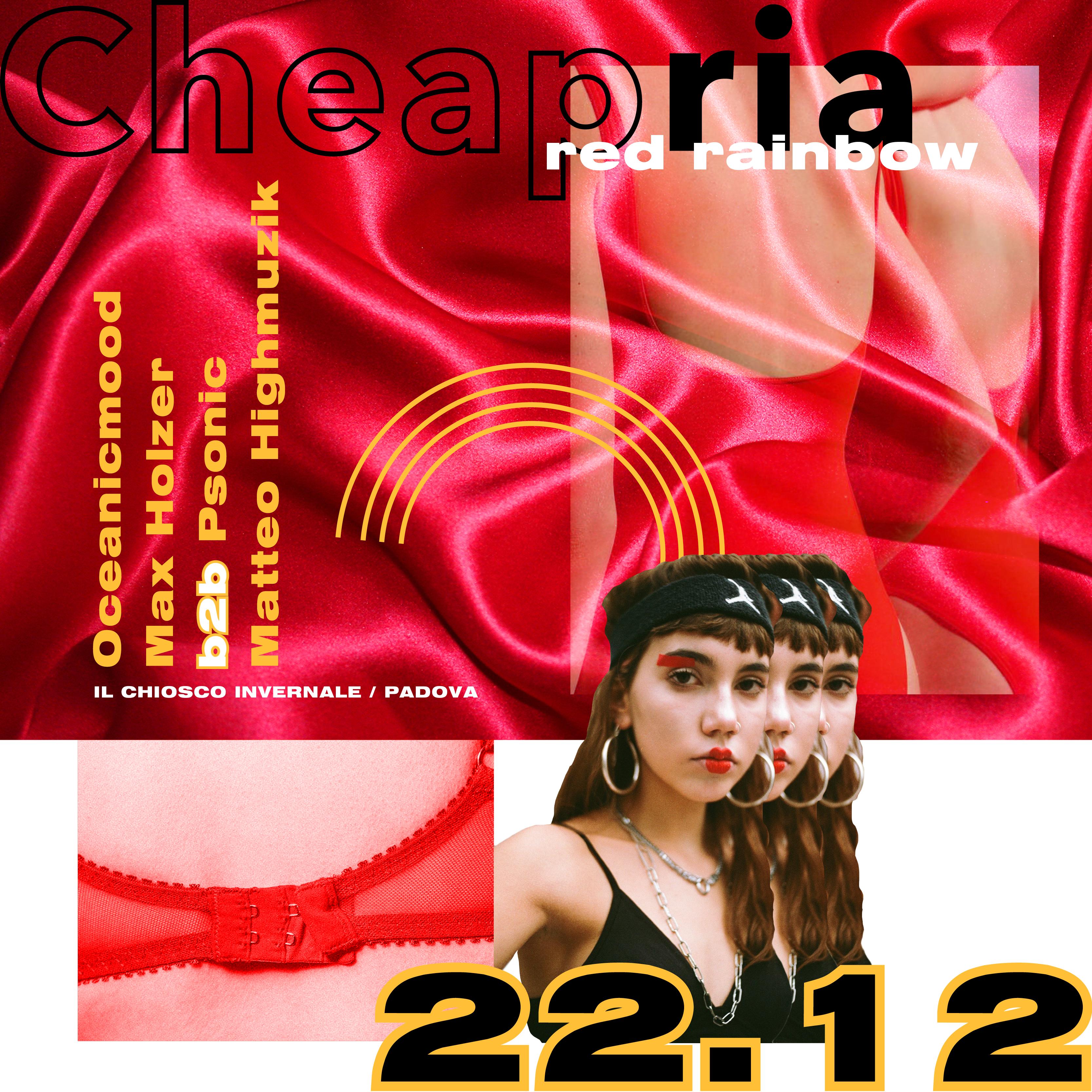Cheapria@Il Chiosco| Sab 22.12.18