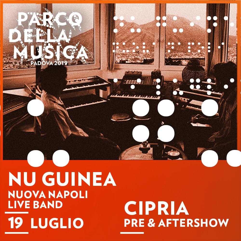 Nu Guinea Nuova Napoli live band ● Parco della Musica ● Padova